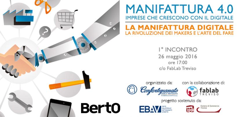 Manifattura 4.0 y el caso BertO en Treviso