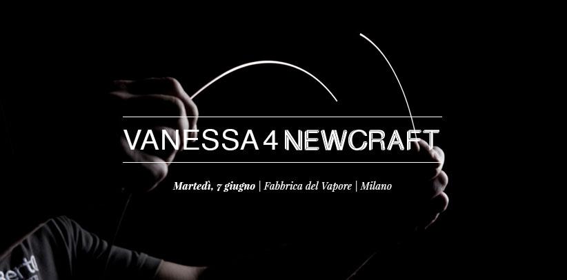 Vanessa4newcraft el proyecto de crowdcrafting de BertO