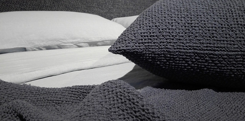 Las sábanas  Society  en las camas de la colección BertO