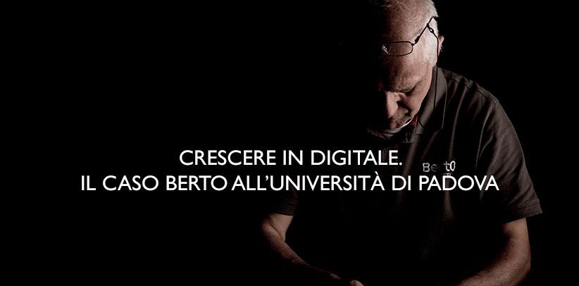 Filippo BertO en la universidad de Padua
