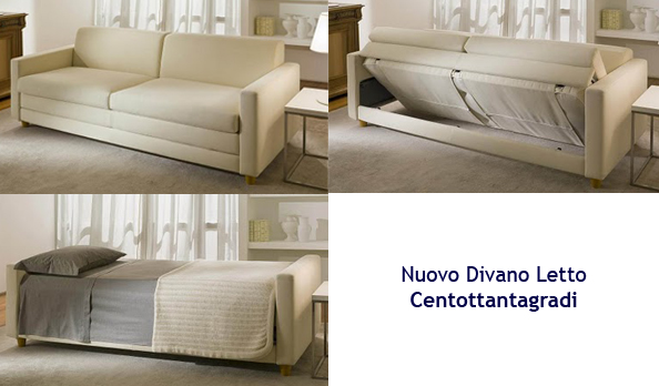 "Centottantagradi"" sofá cama"