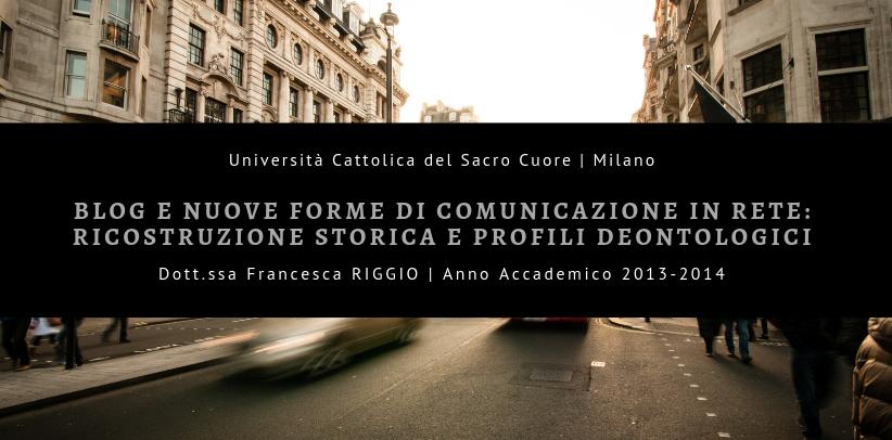 Blog decoración y comunicación: el caso estudio BertO en la tesis de posgrado de la Licenciada Riggio