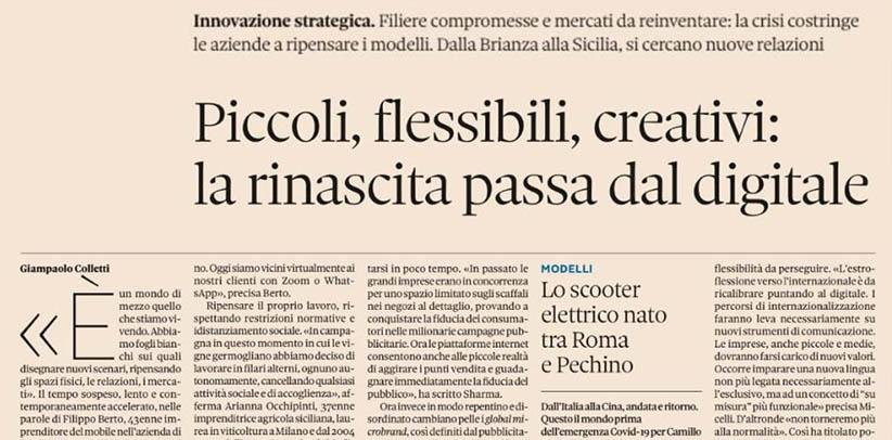 Entrevista a Filippo Berto su Nova de Il Sole 24 ore