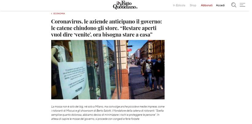 Entrevista a Filippo Berto en il Fatto Quotidiano