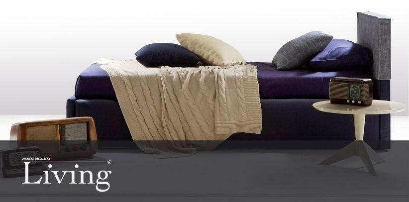 La cama Summer B en el nuevo artículo de Living - Corriere della Sera