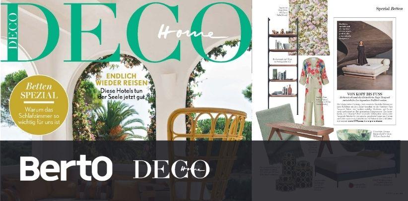 Librería Ian de BertO en HOME Deco, la prestigiosa revista alemana de diseño de interiores