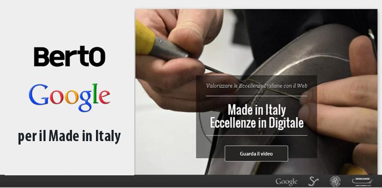Hecho en Italia promovido por BertO y Google