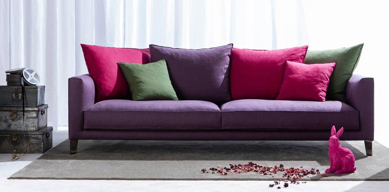 Nueva colección de sofás modernos de BertO